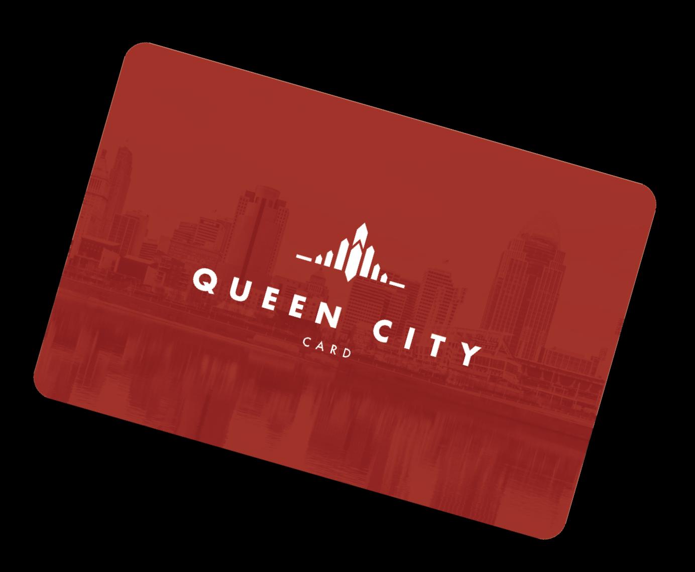 Queen city gift card